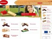 Sušenky od polské firmy Magnolia.