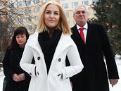 První rodina: Miloš Zeman s manželkou Ivanou a dcerou Kateřinou