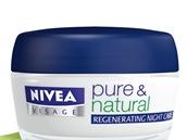 Regenera�n� no�n� kr�m Pure & Natural s arganov�m olejem, Nivea, 150 korun