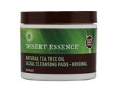 Odličovací tampóny s olejem z čajovníku,  Desert Essence, prodává biooo.cz, 215