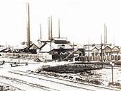 Poldi Kladno: Továrna na konci devatenáctého století.