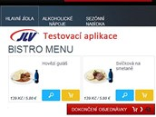 JLV testují on-line nabídku jídel ve vozech Pendolino.