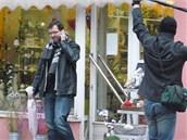 Režisér Tomáš Magnusek začal točit první díl seriálu Stopy života v Náchodě, na