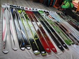 Všechny modely skialpinistických lyží firmy Dynafit pro sezonu 2013/2014. Z