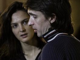 Jana Kirschner a Eddie Stevens v nahrávacím studiu Sono