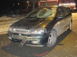 Smrtelná dopravní nehoda v Černilově u Hradce Králové. (23. 1. 2013)