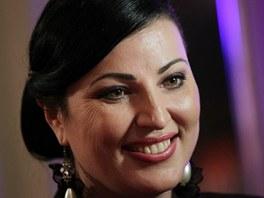 Na ples dorazila také československá miss z roku 1989 Ivana Christová.