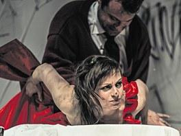 Tereza Vilišová má za titulní roli ve hře Anna Karenina podle Tolstého románu