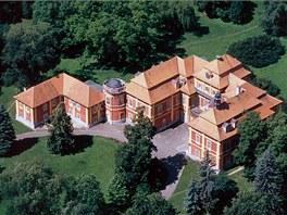 Zámek v Čimelicích, který vlastní rodina Karla Schwarzenberga.