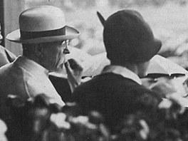 Prezident T. G. Masaryk v Plzni v roce 1929.