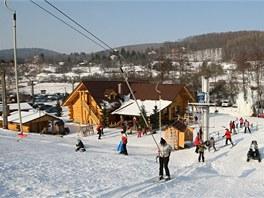 Většina návštěvníků v Osvětimanech vůbec netuší, že místní lyžařský areál,