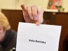Druhé kolo prezidentských voleb. V jedné obálce byl vlastnoručně vyrobený hlas