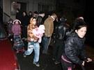 Obyvatelé ubytovny v Předlicích se stěhují.