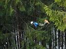 Královská dvoudenní etapa extrémního závodu Winter Survival v Jeseníkách