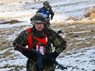 Závěrečná etapa extrémního závodu Winter Survival v Jeseníkách