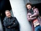 Dan Přibáň (vlevo) a Marek Slobodník - dva členové z party, která projela Jižní