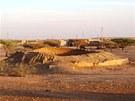 Smysl kruhové stavby ve Wad Ben Naga, z níž se zachovala poměrně značná část