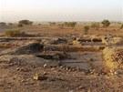Když archeologové na podzim do Wad Ben Naga přijeli, čekalo je osmačtyřicet