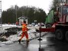 Nedaleko �ervenky na Olomoucku se na �elezni�n�m p�ejezdu srazil vlak s