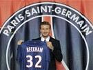 MŮJ NOVÝ DRES. David Beckham bude v Paris St. Germain nastupovat s číslem 32.