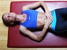 Pokud se nau�íte správn� dýchat a zapojovat i st�ed t�la, p�enesete si tuto...