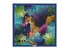 Hedvábný šátek s potiskem džungle, Salvatore Ferragamo, 7 570 korun