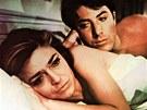Anne Bancroftová a Dustin Hoffman ve filmu Absolvent (1967)