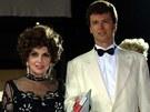 Gina Lollobrigida a Javier Rigau y Rafols (3. srpna 2001)