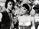 Gerard Philipe a Gina Lollobrigida ve filmu Fanf�n Tulip�n (1952)