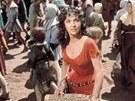 Gina Lollobrigida coby Esmeralda ve filmu Zvon�k u Matky Bo�� (1956)