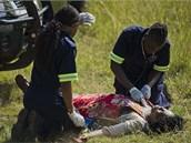 U jihoafrické metropole Pretoria se srazily dva příměstské vlaky, nehoda si