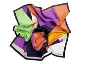 Velký hedvábný šátek s geometrickým vzorem, Frey Wille, 8 960 korun