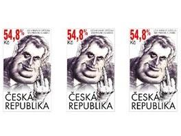 Návrhem známky jsem reagoval na výsledek voleb, říká grafik a výtvarník Zdeněk
