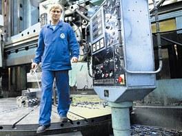 Zaměstnanci Vítkovických strojíren se těší na jistotu práce díky novým zakázkám.