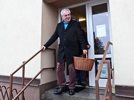 Nově zvolený prezident  Miloš Zeman odpočíval v Novém Veselí. Stihl si nakoupit...