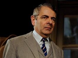 Rowan Atkinson v divadelní hře Quartermaine's Terms (Quartermaineovy podmínky)