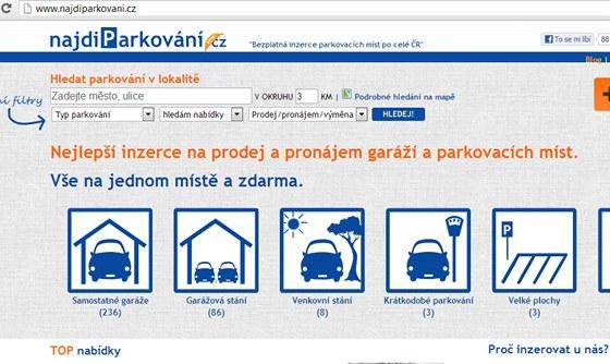 Najdiparkování.cz