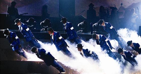 Z p�edstaven� Michael Jackson: The Immortal World Tour