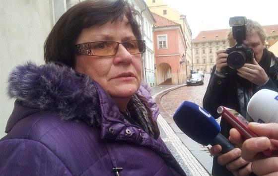 Místopředsedkyně ČSSD Marie Benešová se Zemanem řešila obsazování Ústavního
