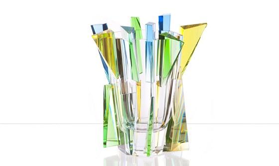 René Roubíček, váza Trendy, Moser