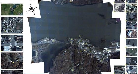 Ukázka  výstupů systému ARGUS-IS
