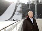 Ruský prezident Vladimir Putin v Soči (6. února 2013)