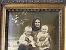 Babička Josefa Řepíka, kterou při vypálení Malína zabili nacisté.