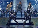 Z p�edstaven� Michael Jackson: The Immortal World Tour