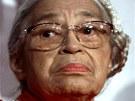Rosa Parksová na snímku z roku 1999