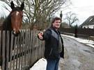 Roman Keclík chová ve Štědroníně koně. Rakouský investor ho oslovil, zda mu