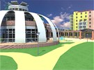 K dosavadnímu areálu v Hodoníně by měla přibýt třípatrová budova s velkým