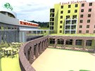 K dosavadn�mu are�lu v Hodon�n� by m�la p�ib�t t��patrov� budova s velk�m