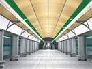 Vizualizace: stanice Veleslav�n