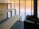 Sauna bude mít kapacitu 15 lidí.